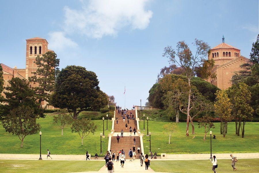 Ucla Campus Ucla Campus University Of California Los Angeles Campus
