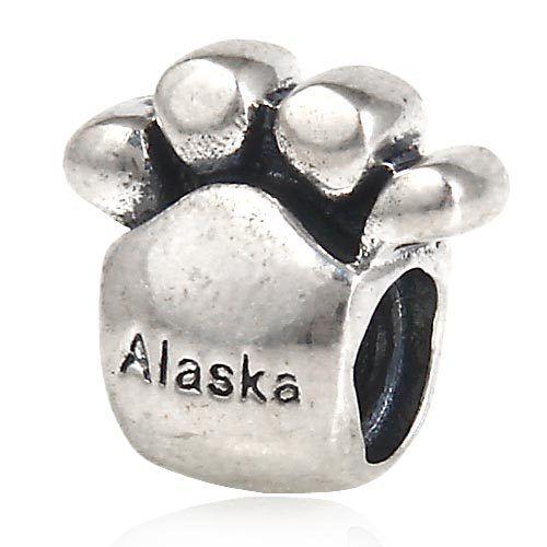 bear paw pandora charm