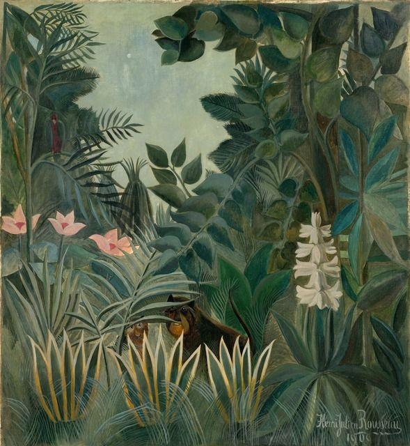 The Equatorial Jungle: Henri Rousseau: 1844 - 1910