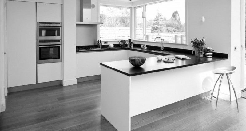 Feminine Grey Hardwood Floor Color Combinations and grey ...
