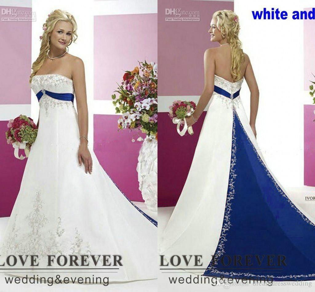 Blue and silver wedding dresses best shapewear for wedding dress