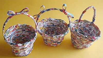how to make newspaper compost basket