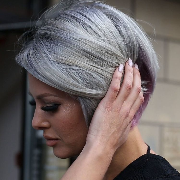 Would You Dare To Go Grey On Purpose Hair Pinterest Hair