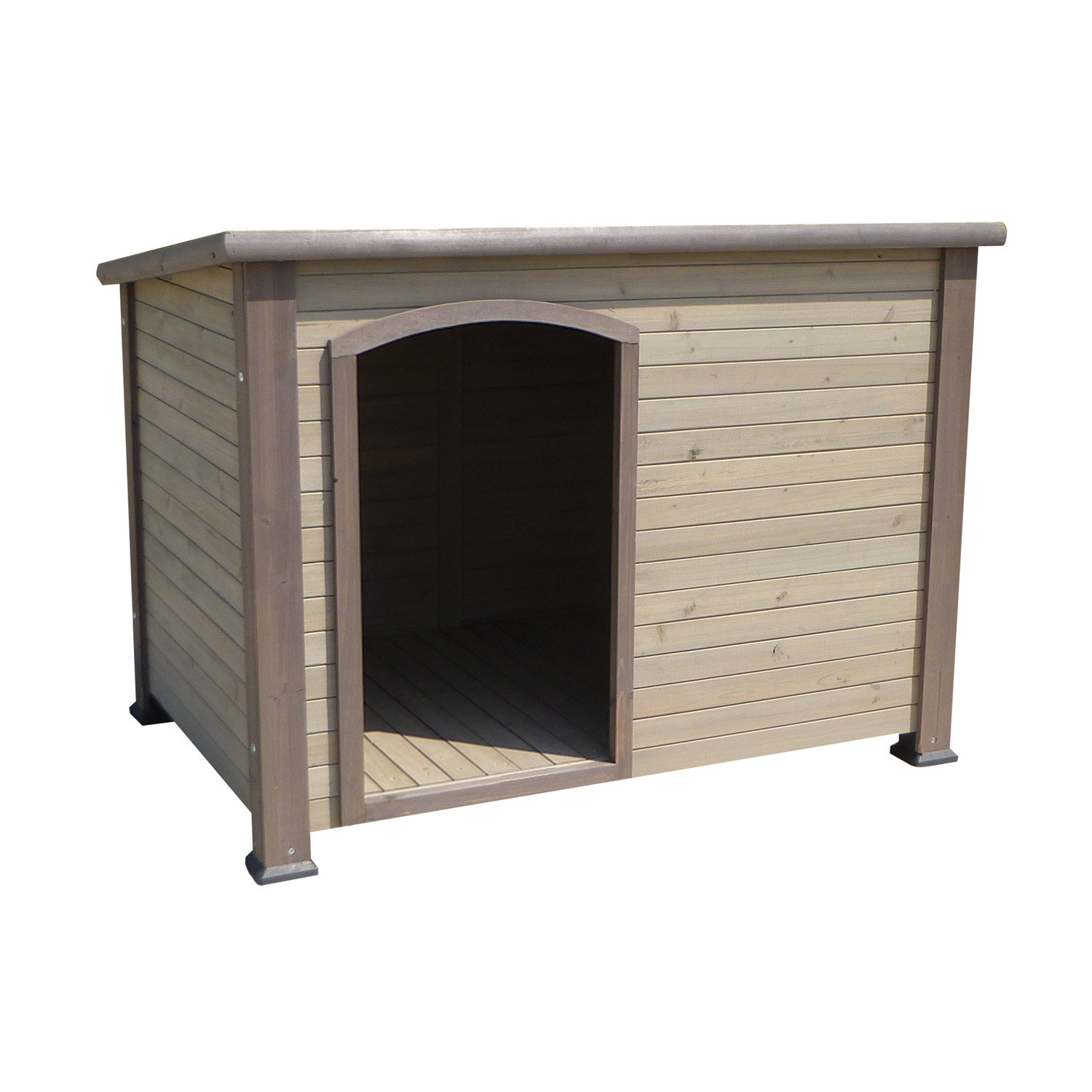 Precision Pet Extreme Outback Log Cabin Dog House Large 45 5 X