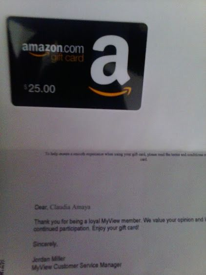 Got My 25 Amazon Gift Card From Zoom Panel Earn Gift Cards Amazon Gift Cards Amazon Gifts