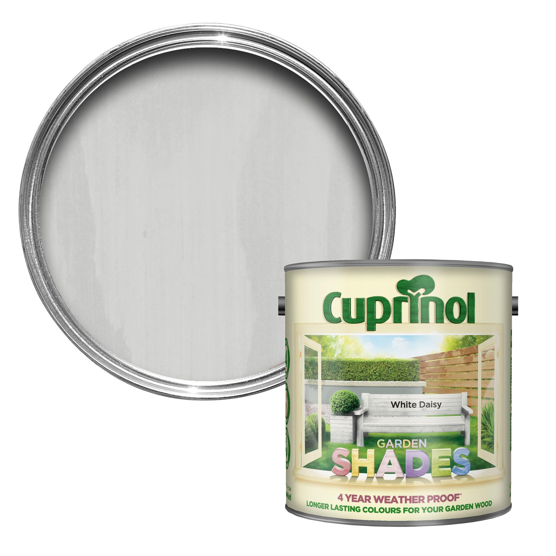 Cuprinol Garden Shades White Daisy Wood Paint 2.5L