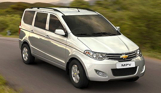 Chevrolet Enjoy Mpv Chevrolet Sail Upcoming Cars Car Loans