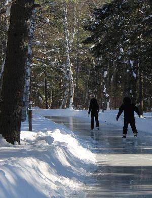Skating Trail One Of Best Kept Secrets In Ontario For Winter Fun Ontario Travel Ontario Winter Canada Road Trip