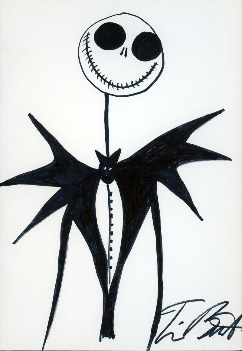 Resultat De Recherche D Images Pour Tim Burton Dessin Univers