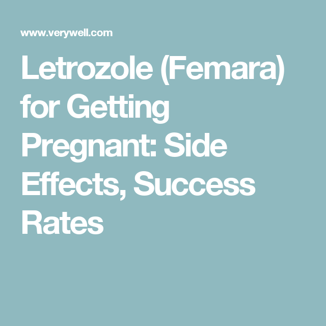 Femara (Letrozole) for Treating Infertility in PCOS