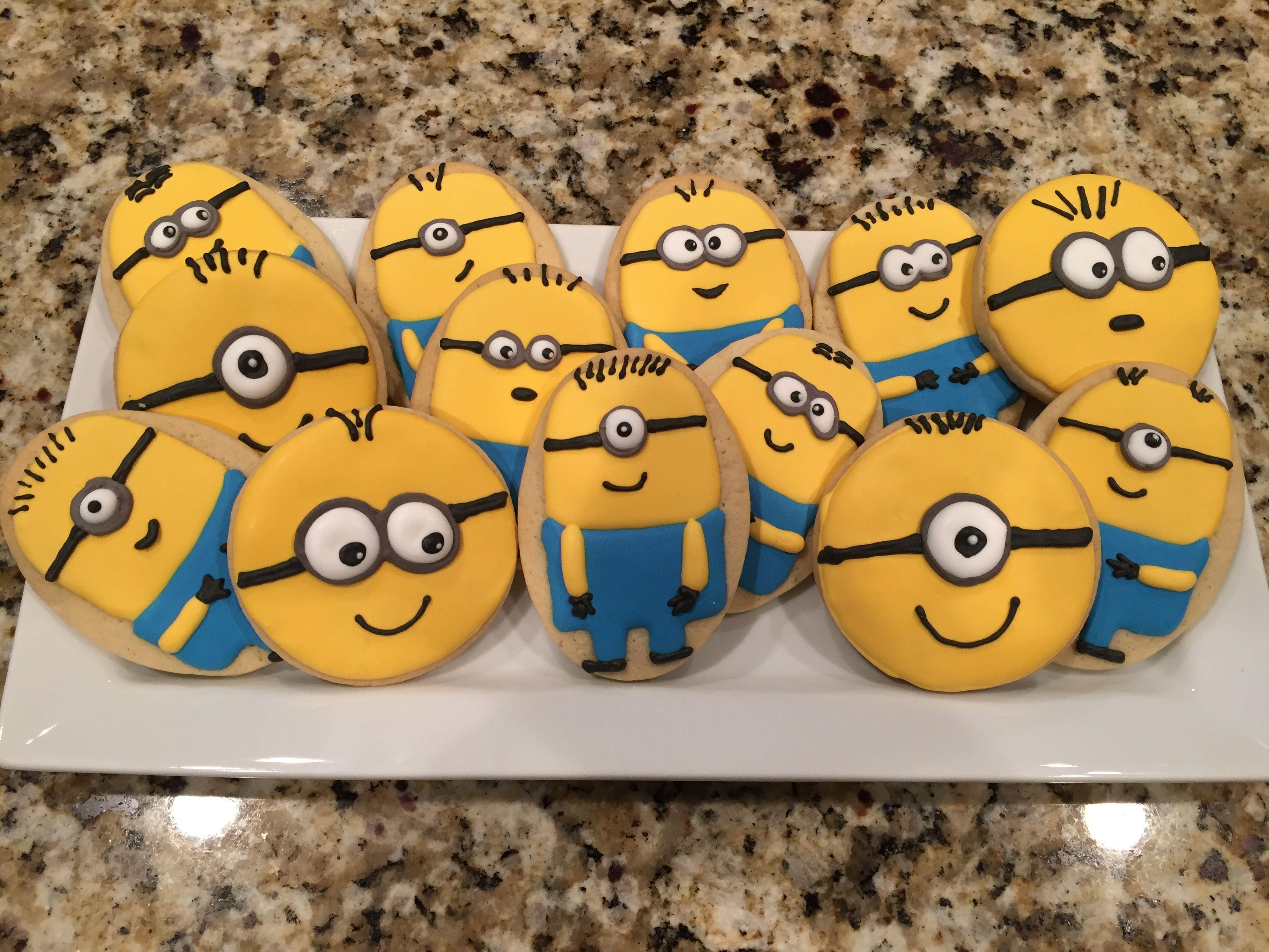 Minion Cookies