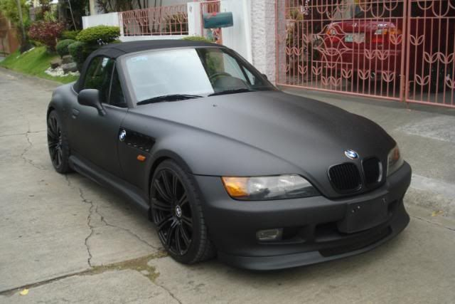 bmw z3 matte black and bmw on pinterest black interior 1996 bmw z3