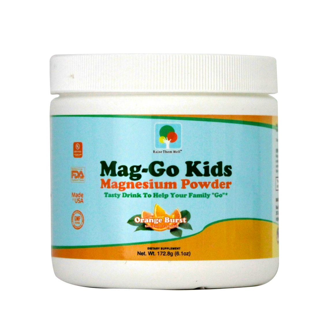 Mag Go KidSafe Magnesium Drink (Orange Burst) in 2020