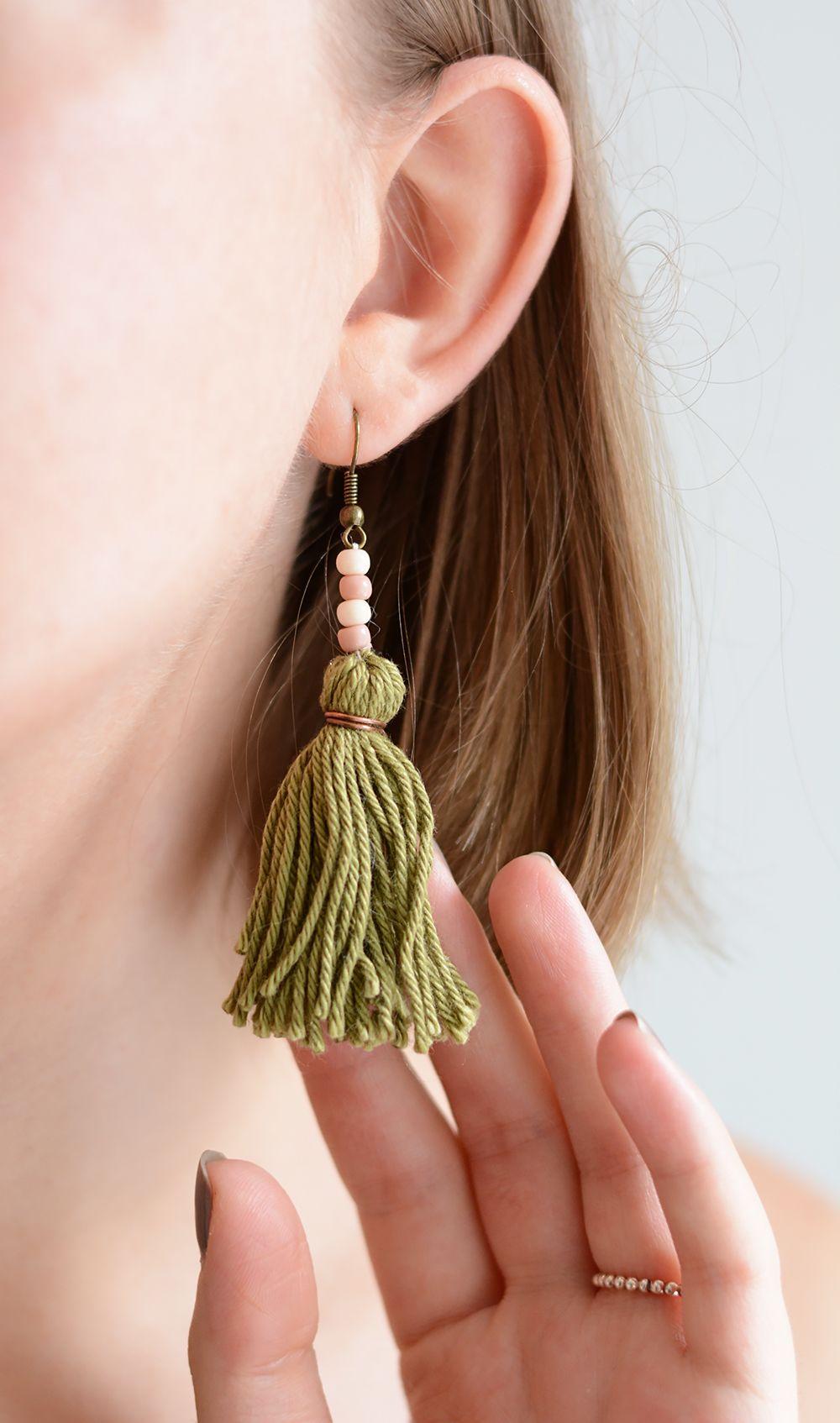 Photo of DIY: Tassel earrings – we love handmade