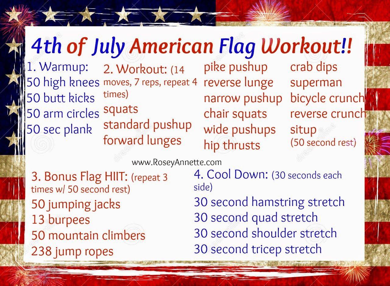 4th of july workout shirts