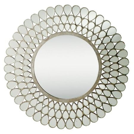 I Pinned This Kichler Raindrops Wall Mirror From The Clear Winners