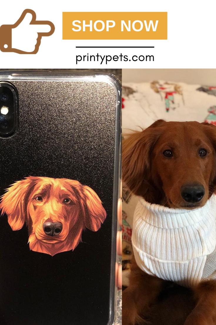 Custom Pet Print Phone Case Pets Unique Animals Phone Cases