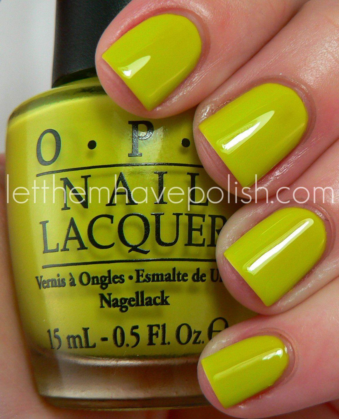 Let them have Polish!: O.P.I Nicki Minaj Collection Swatches | nails ...