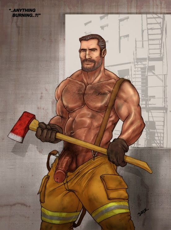 from Khalil gay firemen hunks fuck