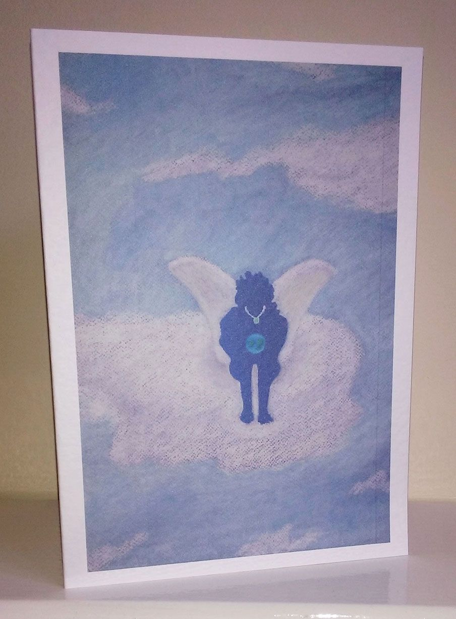 Air Angel This Is One Of My Elemental Spirit Greeting Cards