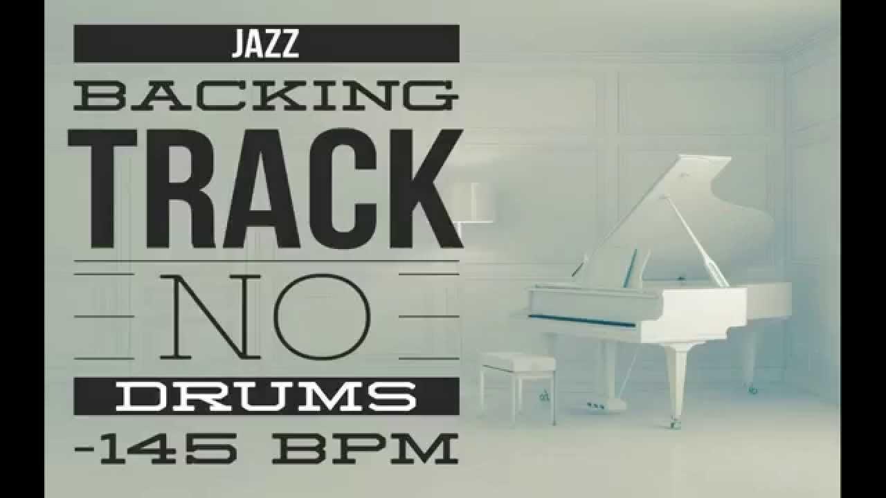 Drumless Jazz Backing Track 145 BPM No Lead No Drums | Jazz Backing