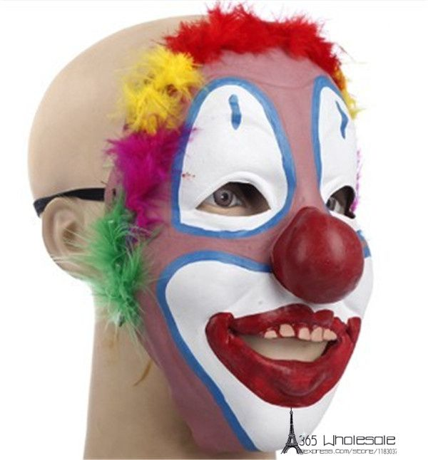 e75dceedab5 Free Shipping Joker Mask Soft Rubber Cool Funny Scary Halloween ...