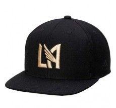 adidas LAFC Snapback Hat - Black/Gold