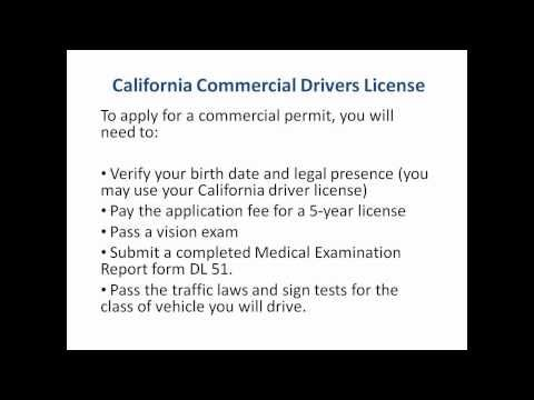 California Commercial Drivers License Cdl In Ca Keepin It Real