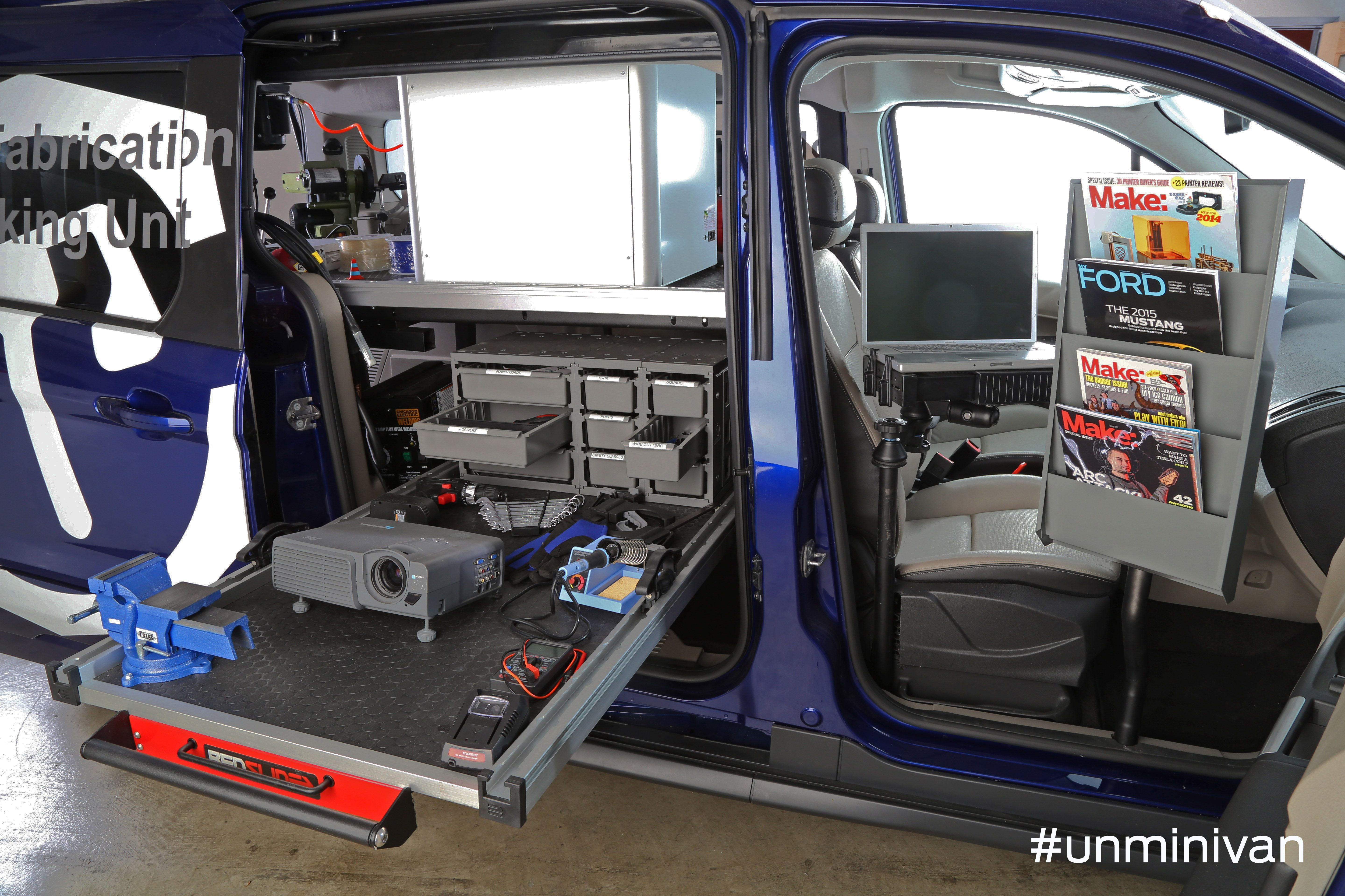 Ford Rolls Out Two Custom Transit Connect Wagons For Maker Faire .