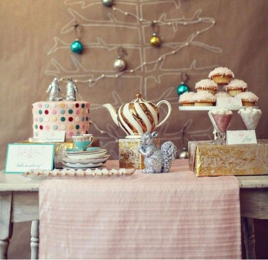 Party Decor Retro Pastels for the Holidays Pastels, Holidays and Xmas