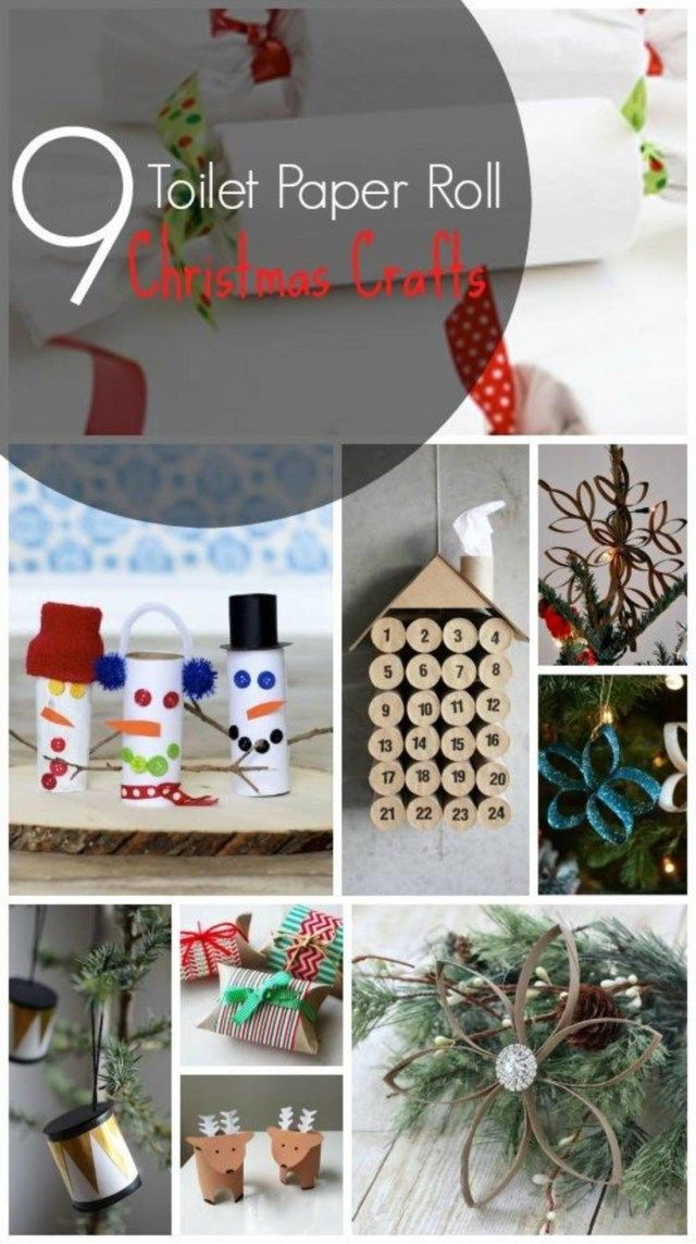 9 Christmas Crafts That Use Toilet Paper Rolls Blitsy Regarding