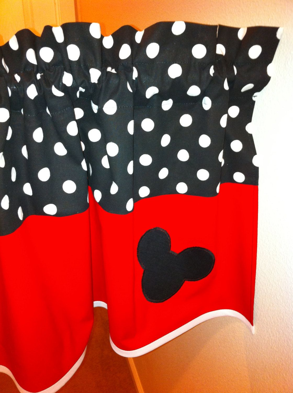 Mickey Mouse Valance For Kids Room Univalance For