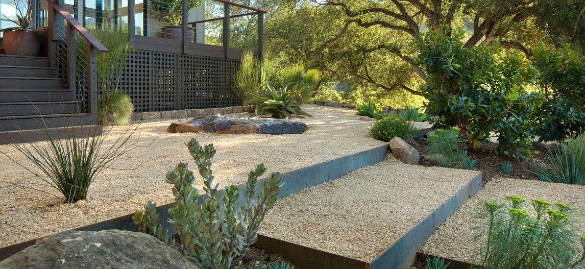 Grace Design Associates Inc San Roque Outdoor Landscape Design Landscape Design Rock Garden Design