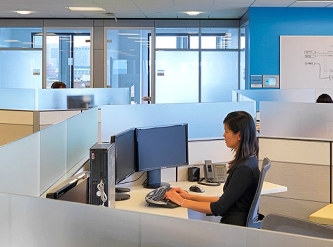 Microsoft Cambridge Mitchell Fuller architecture interior design