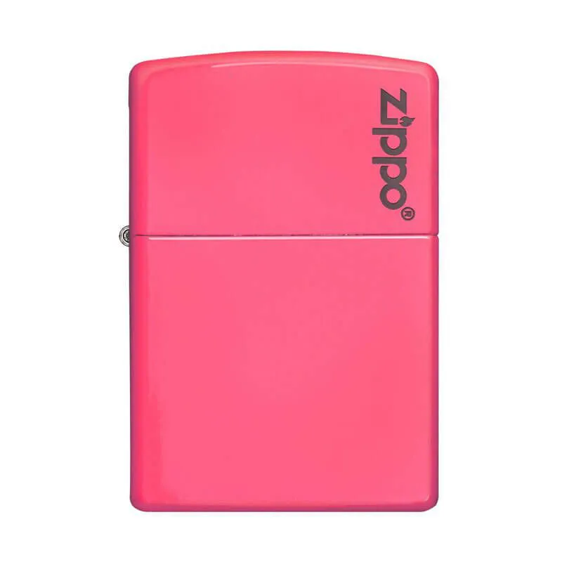 Isqueiro Zippo 28886ZL Classic Zippo Logo Rosa Neon zippo