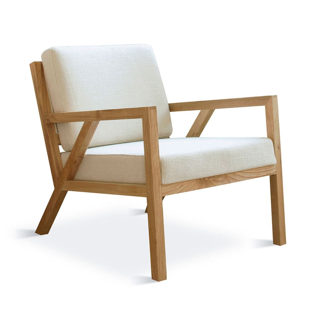 The Gus Modern Truss Chair In Cabana Husk