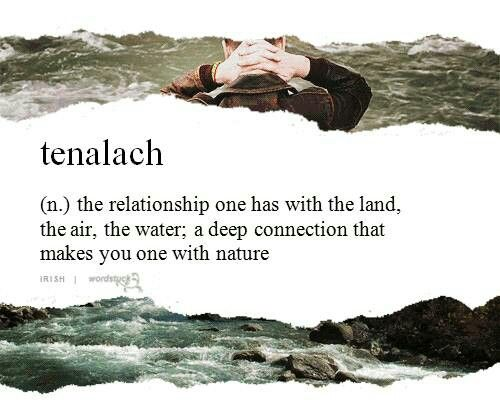 Tenalach | Words | Cool words, Words, Nature quotes