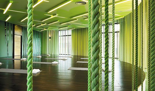 Yoga studio design yoga studio and gym for Yoga room interior design