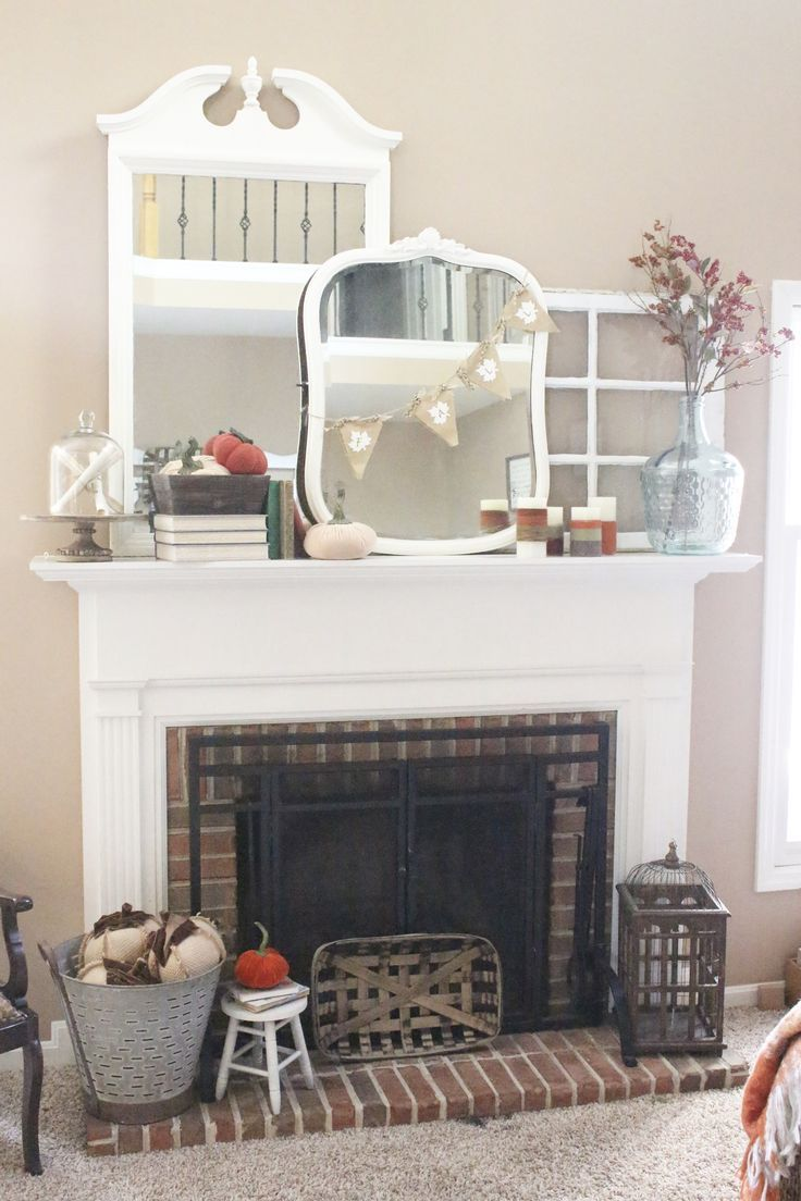 Fall mantel ideas autumn decor fall decor decorating for fall fall mantel ideas autumn decor fall decor decorating for fall mantel book theme books fall ideas seasonal home decor diy do it yourself solutioingenieria Images