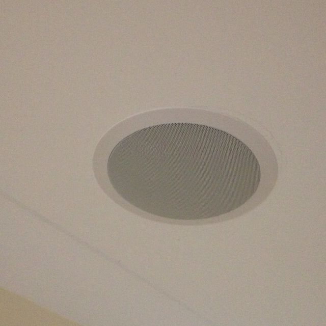 Surround Sound Ceiling Speakers Love The Idea Of Being Able To Listen Music In Bathroom Safely And Not Having Fiddle With A Stereo My Studio