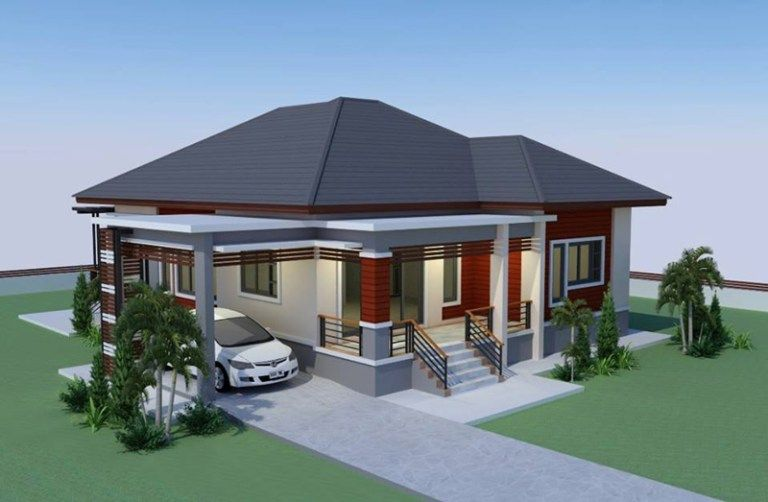 Simple Yet Gorgeous Elevated House Concept Modern Bungalow House