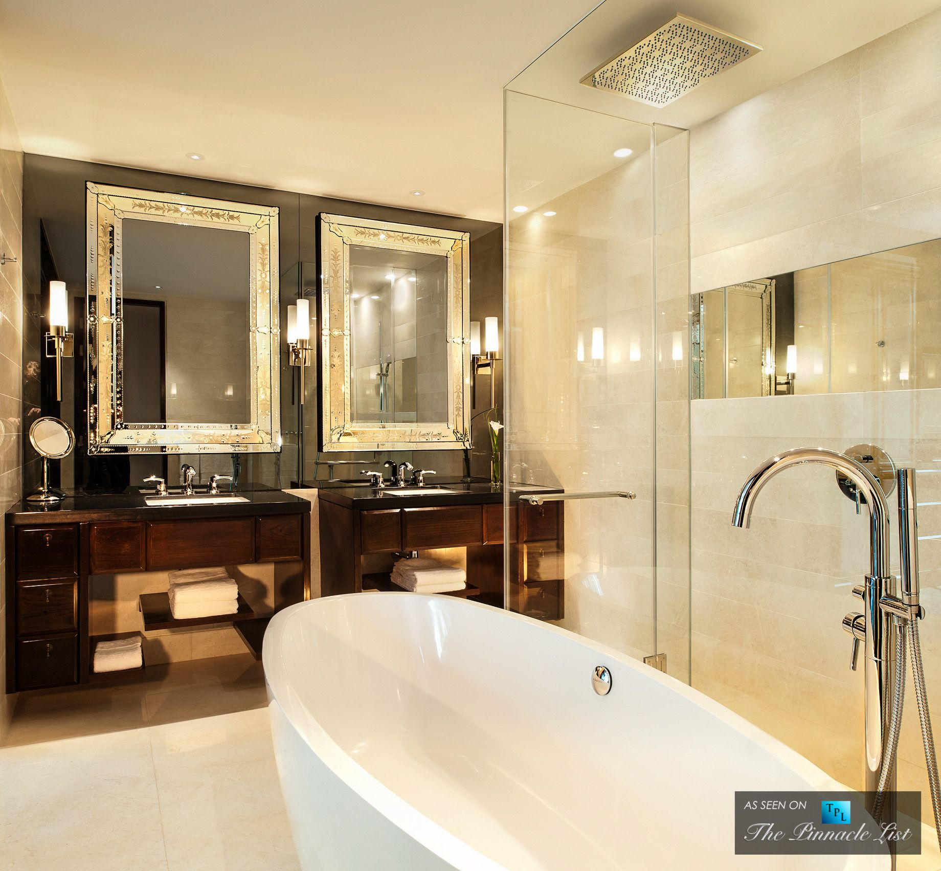 Luxury hotel bathroom home modern bathroom st regis Luxury master bathroom suites