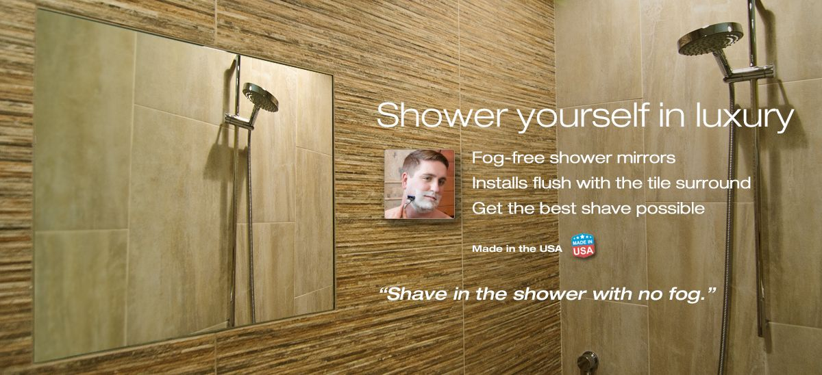 Shower Clearmirror Fog Free Shaving Mirror Fogless Shower