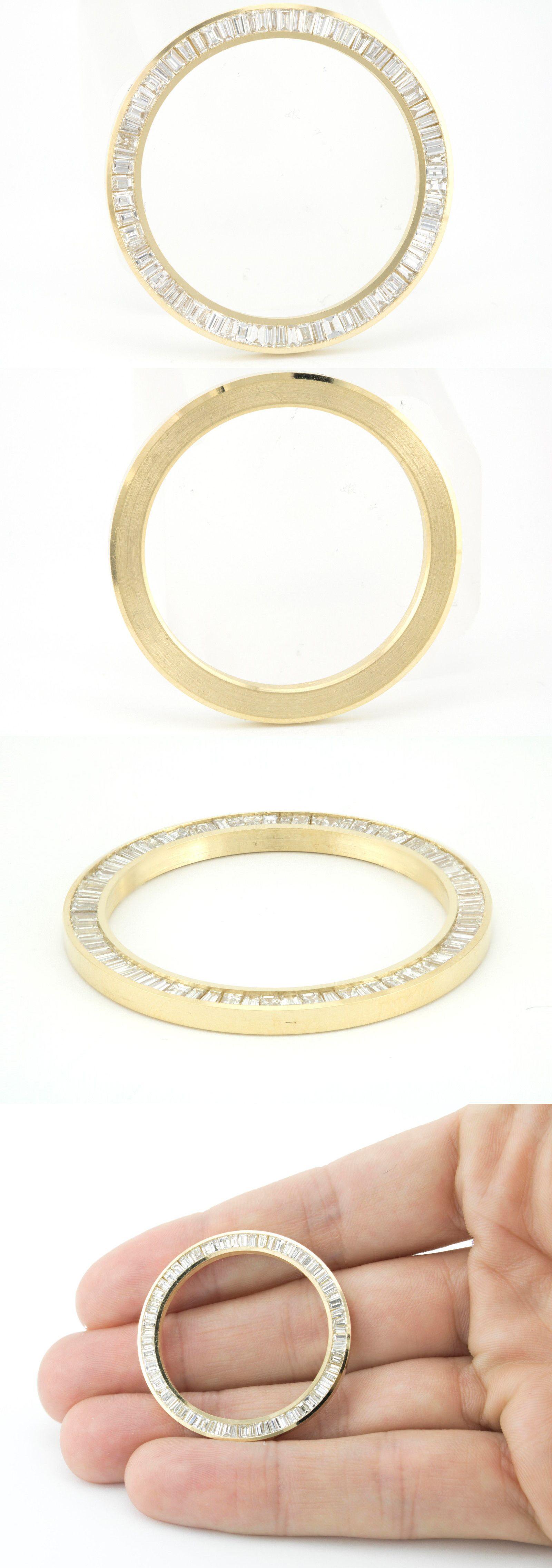 Bezels and Inserts 57714: Diamond Watch Bezel Fit To Men S Rolex