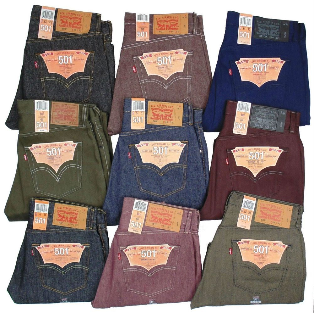 39c01eef Levis 501 Button Fly Jeans Shrink To Fit Many Sizes Many Colors #Levis  #SHRINKTOFIT