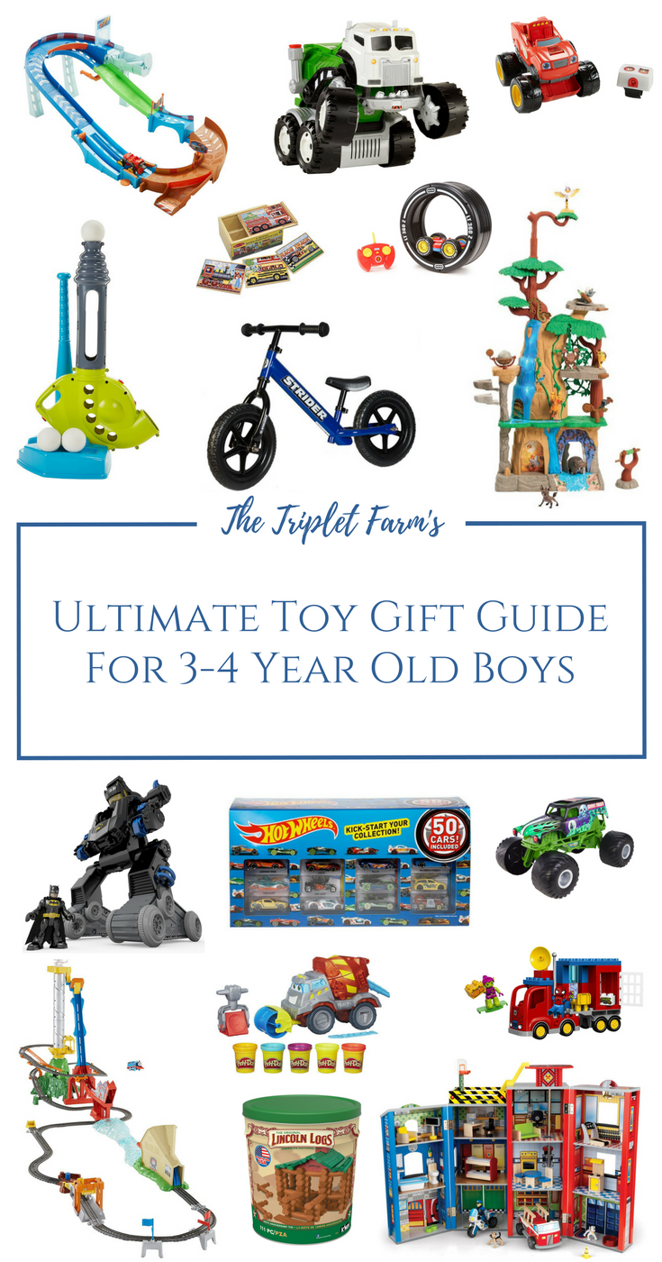 Toy Gift Guide For 3-4 Year Old Boys I am confident my Jase would ...
