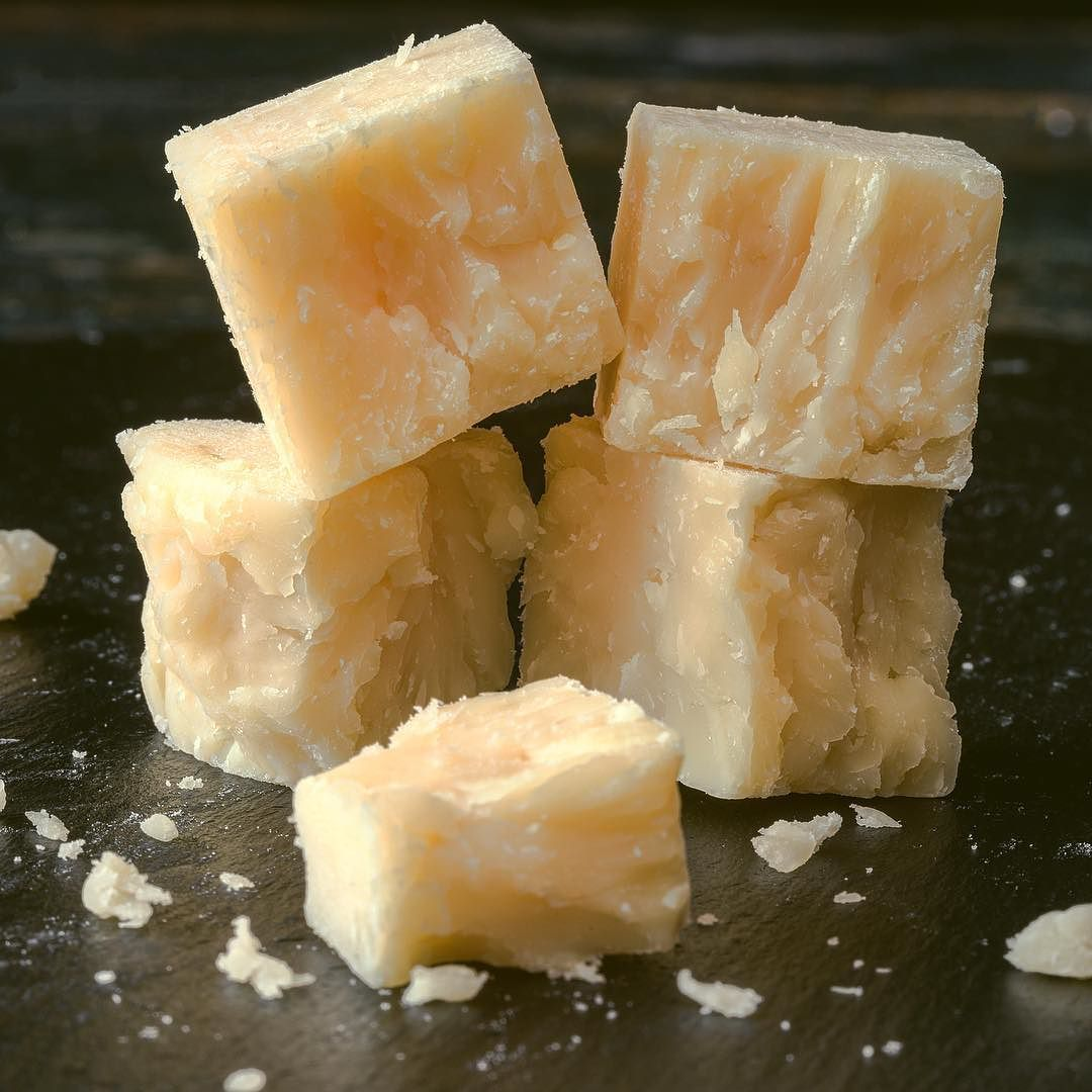 Parmigiano regiano aged for 18 months theres a sweet