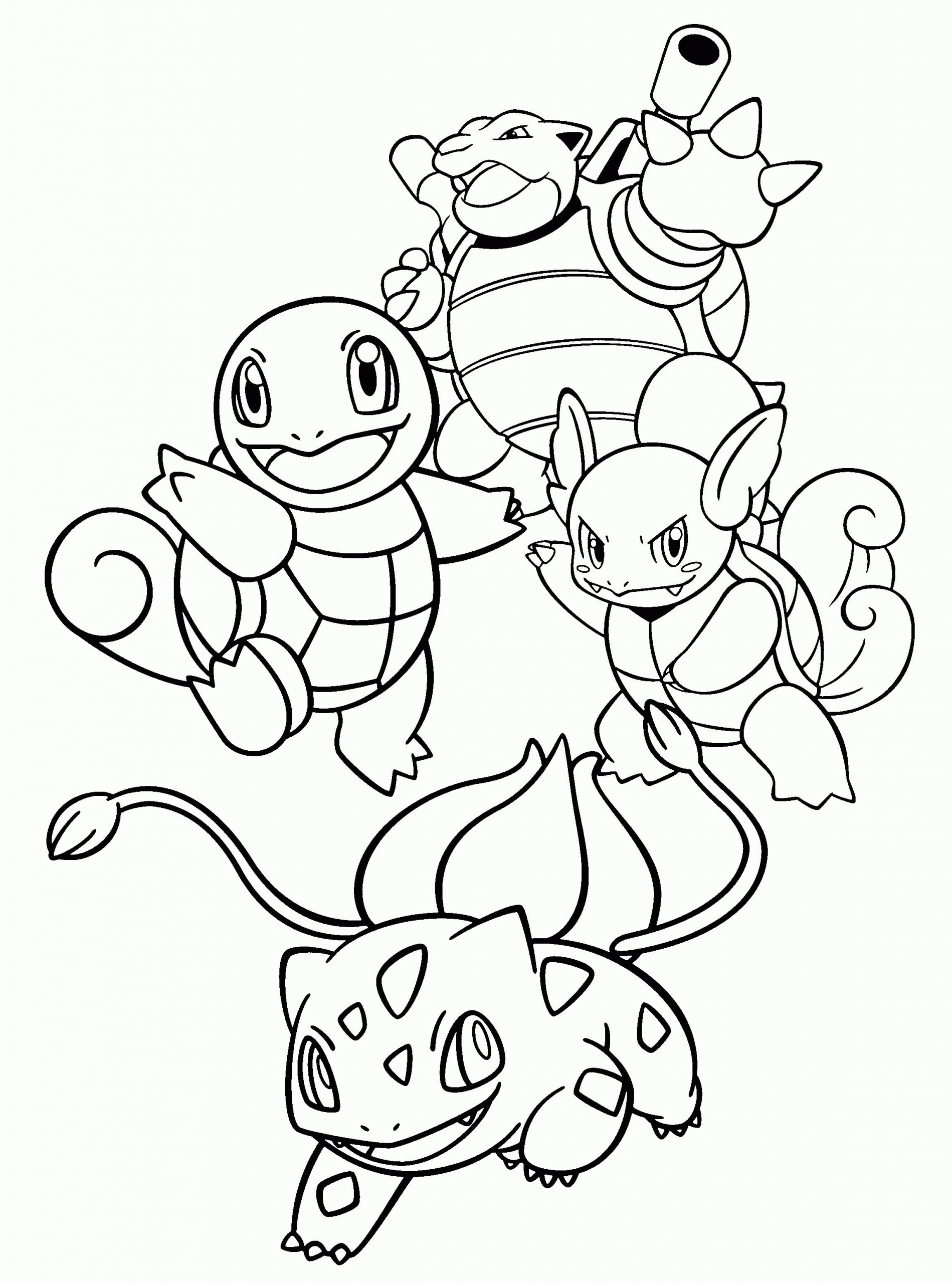 Squirtle Pokemon Coloring Pages : squirtle, pokemon, coloring, pages, Squirtle, Pokemon, Coloring, Youngandtae.com, Pages,, Coloring,, Pikachu