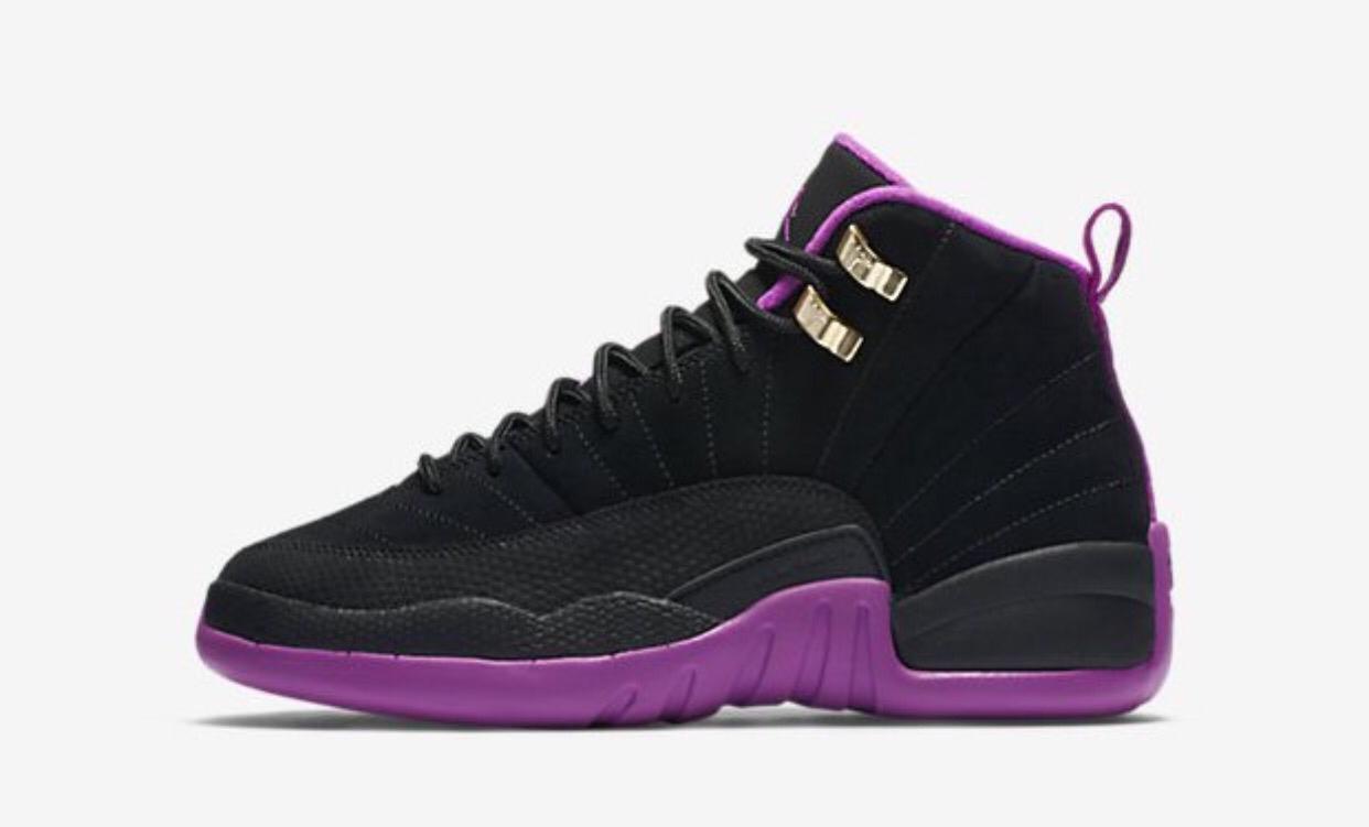 8a24a32a3eb Air Jordan 12 Retro Hyper Violet GS All Jordans, Womens Jordans, Nike Air  Jordans