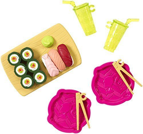 2015-2016-new-Barbie-accessories-accessory-pack-sushi-meal ...